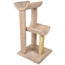 "<strong>Ware Mfg</strong> 38"" Small Kitty Cat Tree"