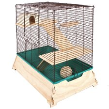 Natural Wood Small Critter Cage
