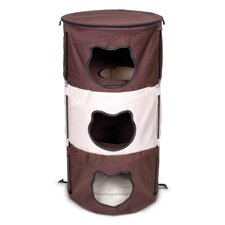 <strong>Ware Mfg</strong> Pop-Up 3 Level Kitty Condo