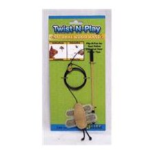 Twist-N-Play Natural Cat Toy