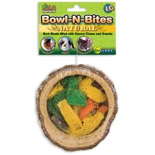 "5"" Large Bowl-N-Bites Dog Treat"