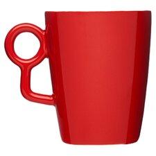 Loop Mug in Red (Set of 4)
