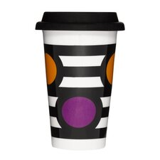 Take Away Stripe Mug