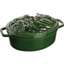 Vegetable 4.25-qt. Oval Dutch Oven