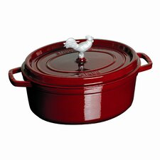 Coq Au Vin 5.75-qt. Cast Iron Round Dutch Oven