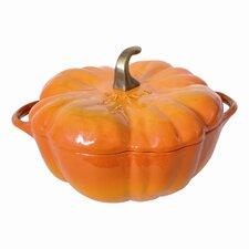 3.5-qt. Cast Iron Pumpkin Dutch Oven