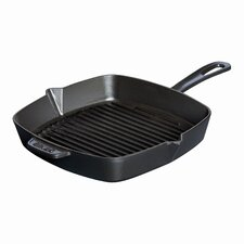 "11.75"" American Square Grill in Black"