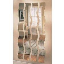 Wave Strip MirrorSet of 4)