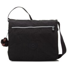 Basic Solid Madhouse Expandable Messenger Bag