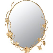 <strong>Quiescence</strong> Vineyard Oval Mirror