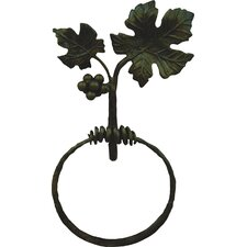 Vineyard Wall Mounted Towel Ring
