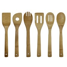 <strong>Oceanstar Design</strong> 6-Piece Cooking Utensil Set