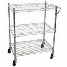 "36.6"" 3 Tier Heavy Duty All-Purpose Utility Cart"