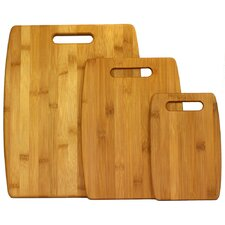 3 Piece Cutting Board Set in Natural