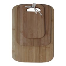 3 Piece Bamboo Cutting Board Set