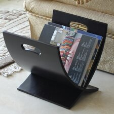 <strong>Oceanstar Design</strong> Contemporary Style Wooden Magazine Rack