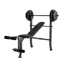 <strong>Marcy</strong> Bench with 80 lb. Weight Set
