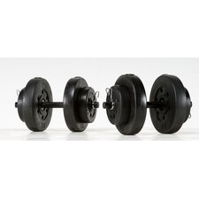 40 lb. Vinyl Dumbbell Set
