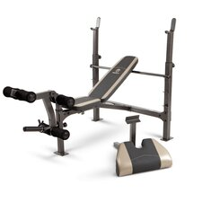 Adjustable Olympic Bench with Arm Curl