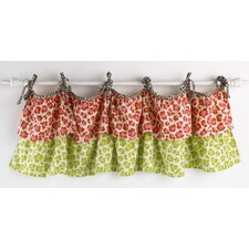 <strong>Cotton Tale</strong> Here Kitty Kitty Cotton Curtain Valance