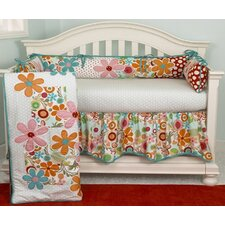 Lizzie 4 Piece Crib Bedding Set
