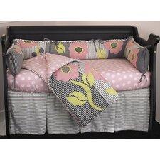 Poppy 4 Piece Crib Bedding Set