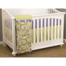 Periwinkle 3 Piece Crib Bedding Set