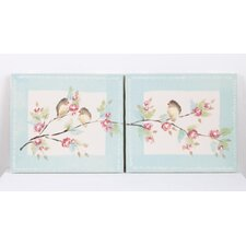 Tea Party Canvas Art (Set of 2)