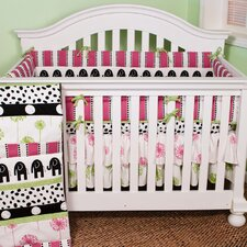 <strong>Cotton Tale</strong> Hottsie Dottsie 4 Piece Crib Bedding Set