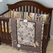 Penny Lane 4 Piece Crib Bedding Set