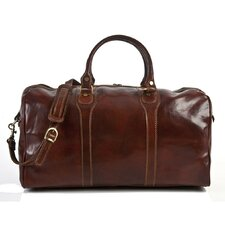 "Amato 20"" Itallian Leather Duffel"