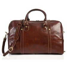 "Milano 18"" Italian Leather Duffel"