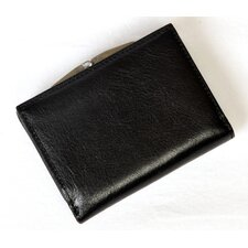 Italico Ultimo Tri-Fold Wallet with Framed Coin Pocket