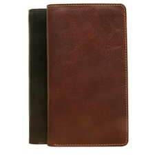 The Green Collection Prima Executive Combination Checkbook and Wallet