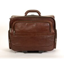 <strong>Tony Perotti</strong> Green Executive Leather Laptop Catalog Case