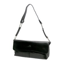 Green Brescia Flap-Pouch Shoulder Bag