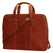 "<strong>Tony Perotti</strong> Italico Classic Ladies 17"" Zip-Around Laptop Tote Bag"