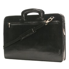 Italico Arezzo Portfolio Leather Laptop Briefcase
