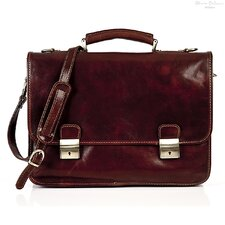 <strong>Tony Perotti</strong> Firenze Leather Laptop Briefcase