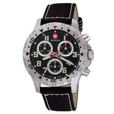 """Uhr """"Offroad"""" mit Leder-Armband"""