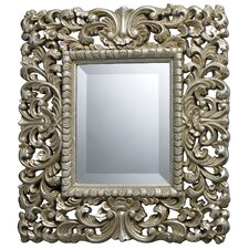 <strong>Dimond Lighting</strong> Bryan Mirror in Montgomery Silver
