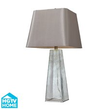 """HGTV Home 30"""" H Glass Table Lamp"""