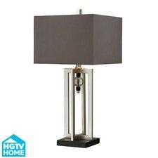 "HGTV Home 30"" H Steel Table Lamp"