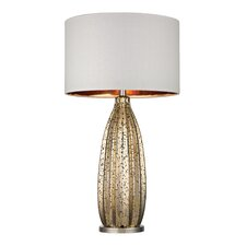 "30.5"" H Glass and Metal Table Lamp"