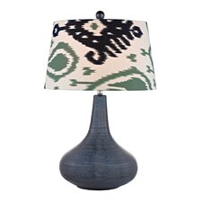 "Textured 26"" H Table Lamp with Empire Shade"