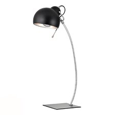 "HGTV Home 26"" H Chrome Table Lamp"