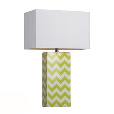 "HGTV Home 26"" H Table Lamp with Square Shade"
