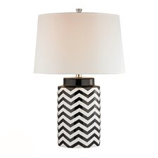 """HGTV Home 26"""" H Cylinder Table Lamp"""