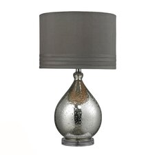 "HGTV Home 24"" H Mercury Glass Table Lamp"