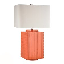 "HGTV Home 28"" H Table Lamp with Square Shade"